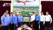 Thắt chặt mối quan hệ Công đoàn 2 tỉnh Nghệ An - Xiêng Khoảng