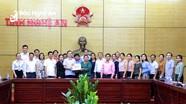 UBND tỉnh Nghệ An trao đổi kinh nghiệm với đoàn công tác Văn phòng Phủ Thủ tướng Lào