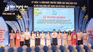 Nghệ An: 14 sinh viên được trao tặng danh hiệu 'Sinh viên 5 tốt'