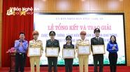 Đoàn Thanh niên Công an tỉnh Nghệ An đạt giải Nhất cuộc thi 'Ý tưởng an toàn giao thông'