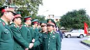 Đại tướng Đỗ Bá Tỵ làm việc với Bộ Chỉ huy Quân sự và Công an tỉnh Nghệ An