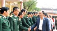 Chủ nhiệm Ủy ban Kiểm tra Tỉnh ủy thăm và chúc Tết tại huyện Yên Thành