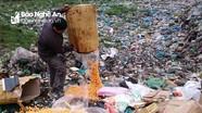 Tiêu hủy gần 10 tấn thực phẩm bẩn tại TP Vinh