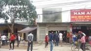 Cháy nhà 2 tầng ở thành phố Vinh, nhiều tài sản bị thiêu rụi