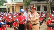 Tuyên truyền pháp luật ATGT cho học sinh THCS  tại Nghệ An