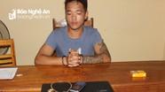 Thanh niên bị bắt vì trộm tài sản, lấy tiền sang Lào làm ăn