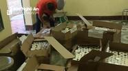 Nghệ An: Bắt vụ vận chuyển 1.140 lọ mỹ phẩm không có giấy tờ