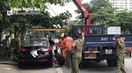 Thành phố Vinh:  Xử lý 460 trường hợp ô tô dừng đỗ sai quy định, đi vào đường cấm
