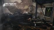 Hai vụ cháy lớn trong đêm tại Thành phố Vinh