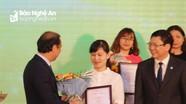 Báo Nghệ An nhận giải thưởng toàn quốc về thông tin đối ngoại năm 2018