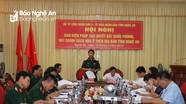 Phối hợp, giải quyết dứt điểm vướng mắc liên quan đất Quốc phòng trên địa bàn Nghệ An
