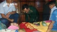 Bộ đội biên phòng Nghệ An cứu người dân miền núi bị ngộ độc thức ăn trong ngày Tết