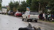 2 người nguy kịch sau tai nạn liên hoàn giữa hai tô tô và xe máy ở Nghệ An