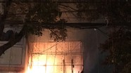 Một cửa hàng ở phường Hà Huy Tập, TP Vinh bốc cháy