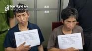 Hai người đàn ông ở Nghệ An biến căn nhà hoang thành điểm buôn ma túy