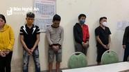 Giữa dịch Covid -19, nhóm thanh niên tụ tập sử dụng ma túy trong phòng trọ