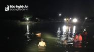 Trục vớt thi thể người đàn ông nghi đuối nước ở đập trong đêm