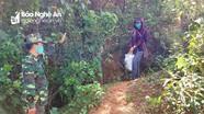 Cách ly, cho khai báo y tế 2 người nhập cảnh trái phép ở khu vực biên giới Nghệ An