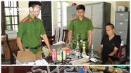 Phát hiện ổ sản xuất 'coóng' để sử dụng ma túy đá ở Nghệ An