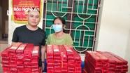 Bắt giữ một phụ nữ tàng trữ 130kg pháo nổ tại nhà
