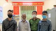 Công an Nghệ An giúp đỡ cụ ông bị lạc về với gia đình ở Thanh Hóa