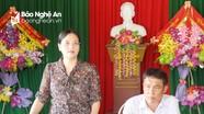 Đồng chí Cao Thị Hiền dự sinh hoạt chi bộ tại Nghĩa Đàn