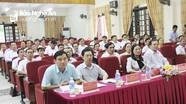 Nghệ An: Khai giảng lớp bồi dưỡng 60 cán bộ quy hoạch Ủy viên BCH Đảng bộ tỉnh