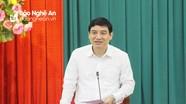Bí thư Tỉnh ủy yêu cầu UBND tỉnh tập trung triển khai chính sách hỗ trợ cho các huyện