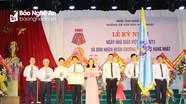 Trường Cao đẳng Văn hóa - Nghệ thuật Nghệ An đón nhận Huân chương Lao động hạng Nhất