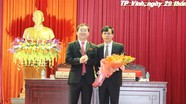 Ông Trần Ngọc Tú được bầu giữ chức Chủ tịch UBND thành phố Vinh