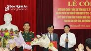 Đồng chí Trần Ngọc Tú giữ chức Phó Bí thư Thành ủy, Chủ tịch UBND thành phố Vinh