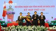 Ông Lê Hồng Vinh được bầu giữ chức Phó Chủ tịch UBND tỉnh Nghệ An
