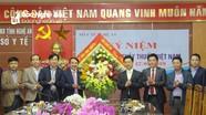 Đồng chí Nguyễn Xuân Sơn chúc mừng các đơn vị y tế nhân ngày Thầy thuốc Việt Nam