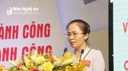 Bà Võ Thị Minh Sinh giữ chức Chủ tịch Ủy ban Mặt trận Tổ quốc tỉnh Nghệ An