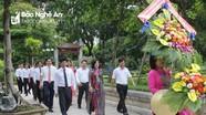 Ban tổ chức hội thảo 'Nghệ An - 50 năm thực hiện di chúc Bác' tưởng niệm Chủ tịch Hồ Chí Minh