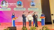 Học sinh Nghệ An đạt giải Nhất cuộc thi toàn quốc tuổi trẻ học tập và làm theo Bác