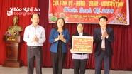 Đoàn công tác của tỉnh chúc Tết các đơn vị và cá nhân tại huyện Hưng Nguyên