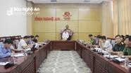 Rà soát công tác chuẩn bị tổ chức Đại hội thi đua yêu nước toàn tỉnh Nghệ An