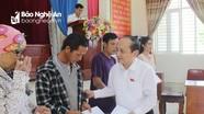 Đoàn ĐBQH Nghệ An sẽ giám sát đầy đủ việc giải quyết kiến nghị của cử tri tỉnh nhà