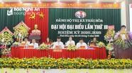 Khai mạc Đại hội đại biểu Đảng bộ thị xã Thái Hòa lần thứ III, nhiệm kỳ 2020 - 2025