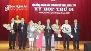 Hội đồng nhân dân thành phố Vinh quyết định chủ trương đầu tư 88 công trình dự án
