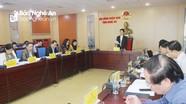 HĐND tỉnh Nghệ An sẽ xem xét, quyết định ban hành 38 dự thảo nghị quyết
