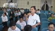Cử tri huyện Diễn Châu phản ánh bất cập trong thực hiện chính sách cán bộ cơ sở