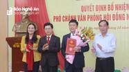 Công bố Quyết định bổ nhiệm Phó Chánh Văn phòng HĐND tỉnh Nghệ An