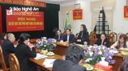 Đảng ủy Khối Doanh nghiệp và Báo Nghệ An phối hợp, đồng hành với doanh nghiệp trong lĩnh vực truyền thông