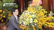 HĐND tỉnh dâng hương tưởng niệm Chủ tịch Hồ Chí Minh tại Khu Di tích Kim Liên