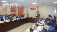 Nghệ An dự kiến có 5 đơn vị bầu cử đại biểu Quốc hội và 26 đơn vị bầu cử đại biểu HĐND tỉnh
