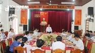 Đoàn công tác Trung ương kiểm tra công tác chuẩn bị bầu cử tại Nghệ An
