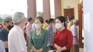 Các ứng cử viên Đại biểu Quốc hội tiếp xúc cử tri, vận động bầu cử tại Cửa Lò
