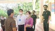 Đoàn công tác của tỉnh kiểm tra công tác bầu cử tại các huyện Tương Dương và Con Cuông